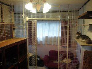 猫の部屋仕切り